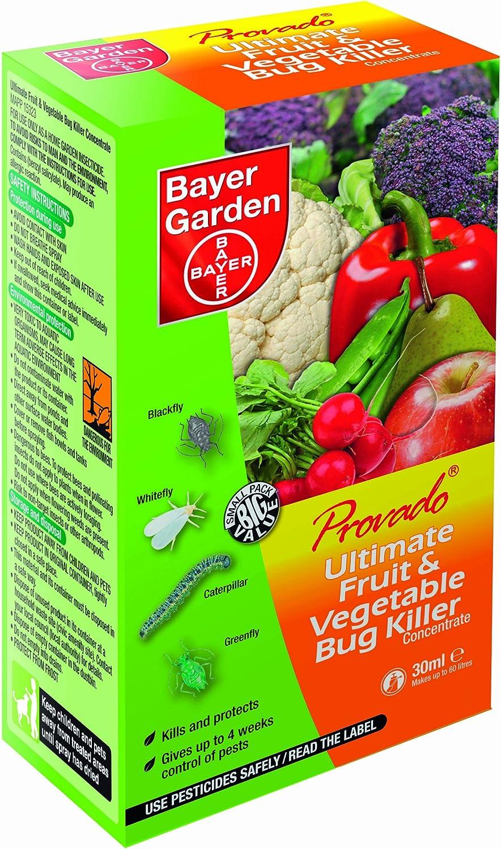 Concentrado esencial Provado®, de Bayer Garden, para matar insectos en frutas y vegetales, 30ml