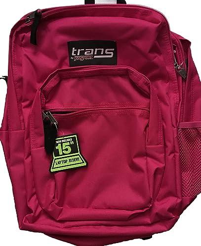 Jansport Trans Supermax Backpack Cyber Pink