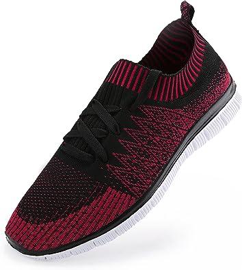 Zapatillas de Running para Hombre. Material Sintetico Ligero y Transpirable: Amazon.es: Zapatos y complementos