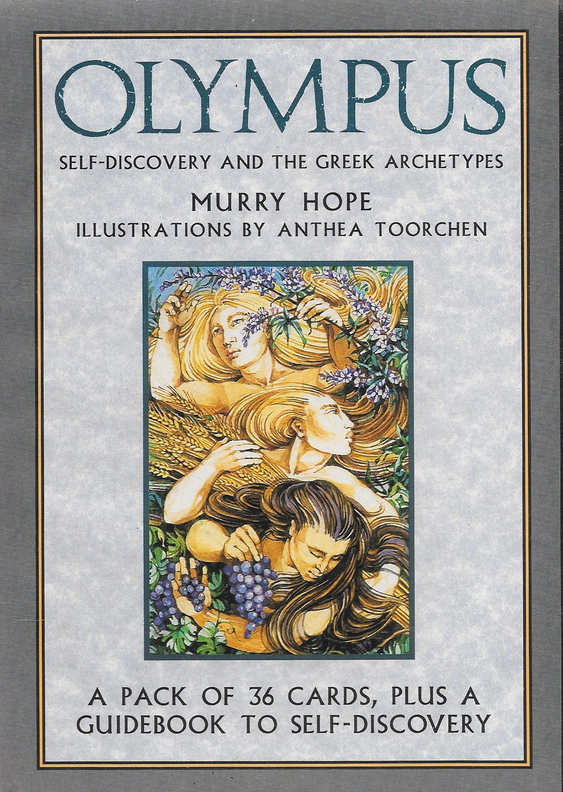 Olympus: Self-Discovery and the Greek Myths/Guidebook and Cards, Hope, Murry
