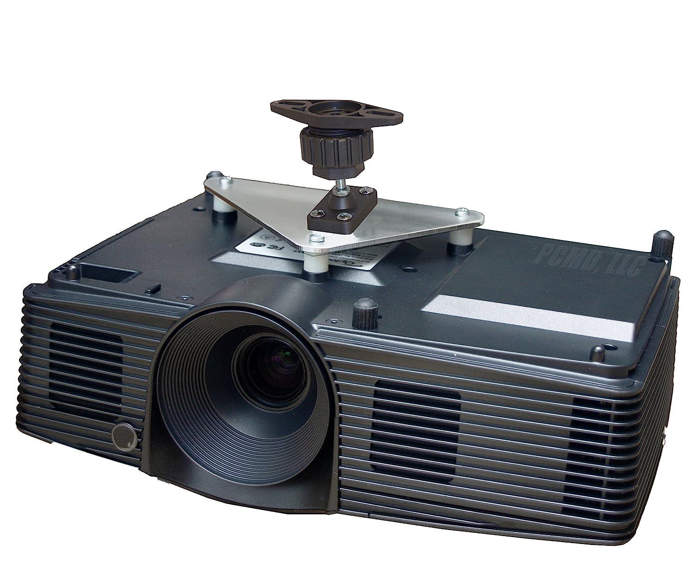 PCMD, LLC. Projector Ceiling Mount Compatible with Optoma EH341 GT1070X GT1080 H112e H182X HD141X HD26 (4-Inch Extension)
