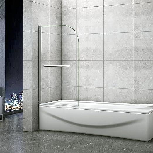 Badewannenaufsatz 80x140cm Duschabtrennung Duschwand Fur Badewanne