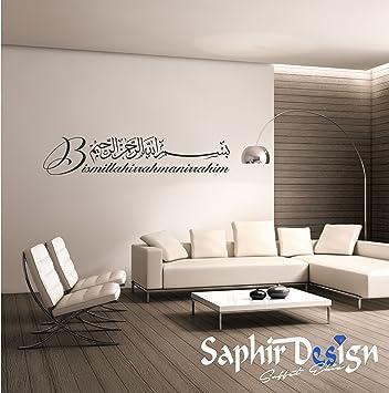 Saphir Design Wandtattoo M01 03 Besmele Bismillahirrahmenirrahim In