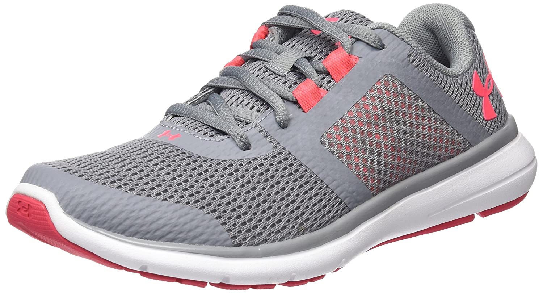 Under Armour UA W Micro G Assert 6, Chaussures de Running Compétition Femme, Gris (Steel 038), 43 EU