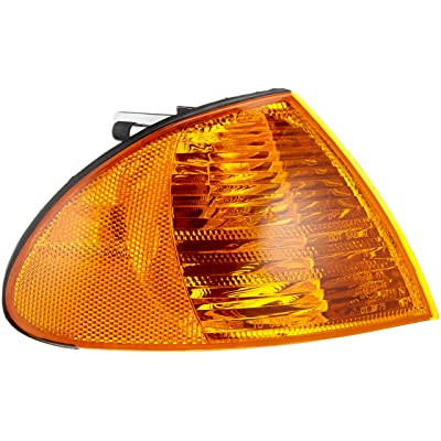 TYC 18-5355-00-1 Compatible with BMW Front Right Replacement Side Marker Lamp: Automotive
