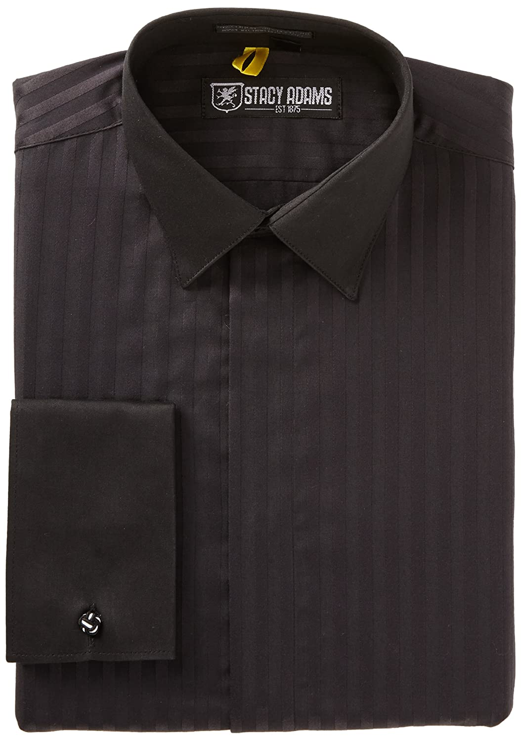 Stacy Adams Mens Cape Town Dress Shirt Ebony 165 3233 At