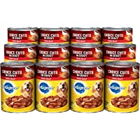 Pedigree CHOIC CUTS in Gravy Adult Wet Dog Food 22 oz. cans