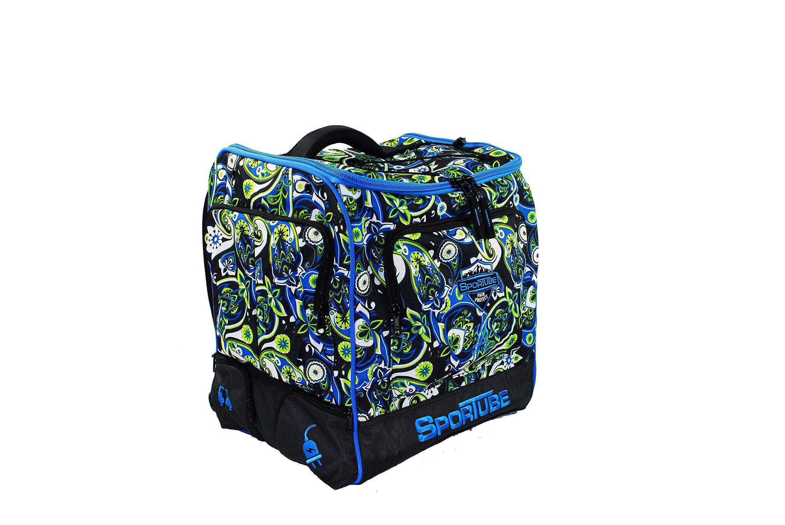 Sportube Toaster Elite Heated Boot Bag, Paisley by Sportube