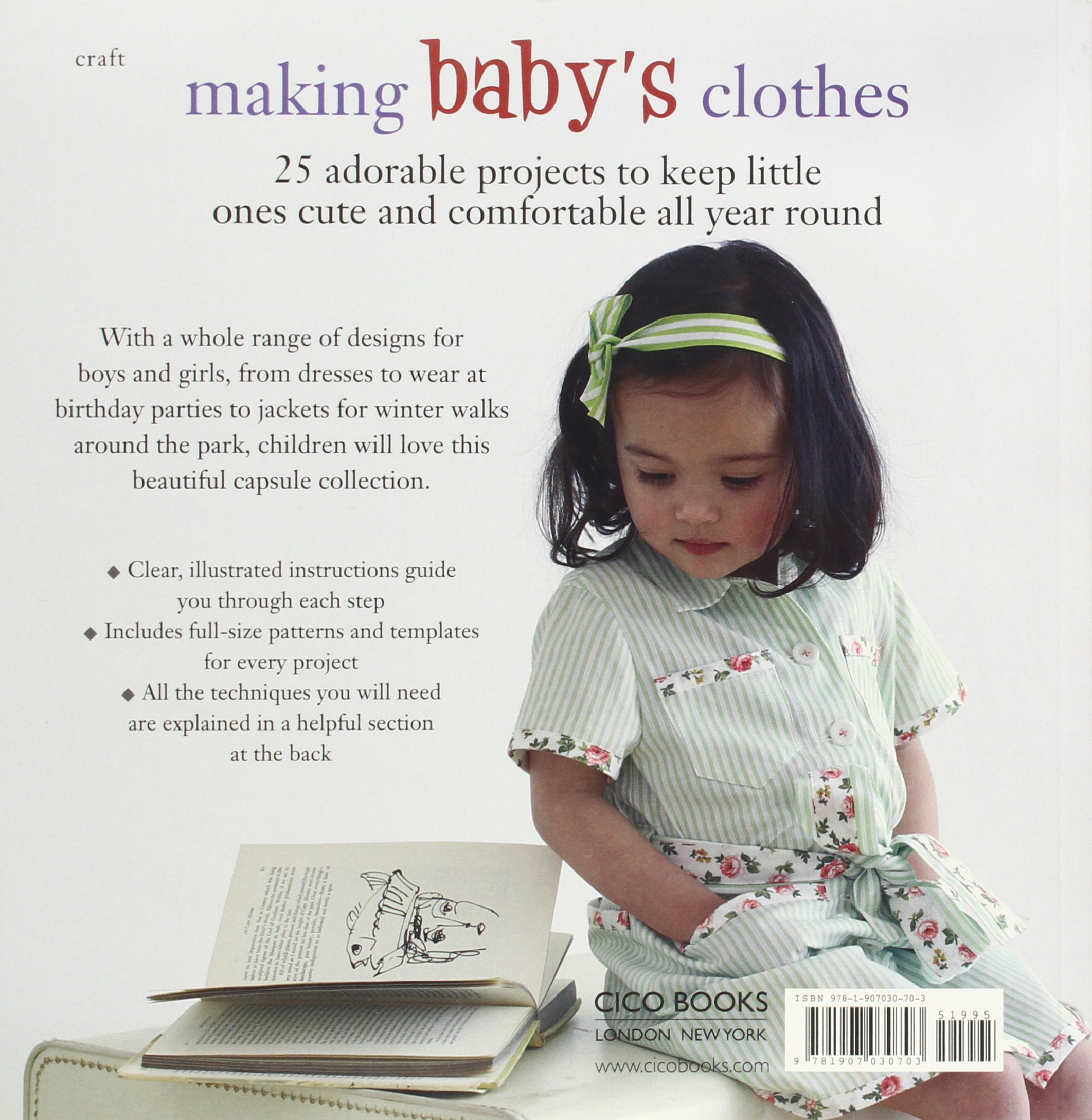 Mom Makes Baby Designer Clothes Luxury Baby Clothes Clothes Pattern Book