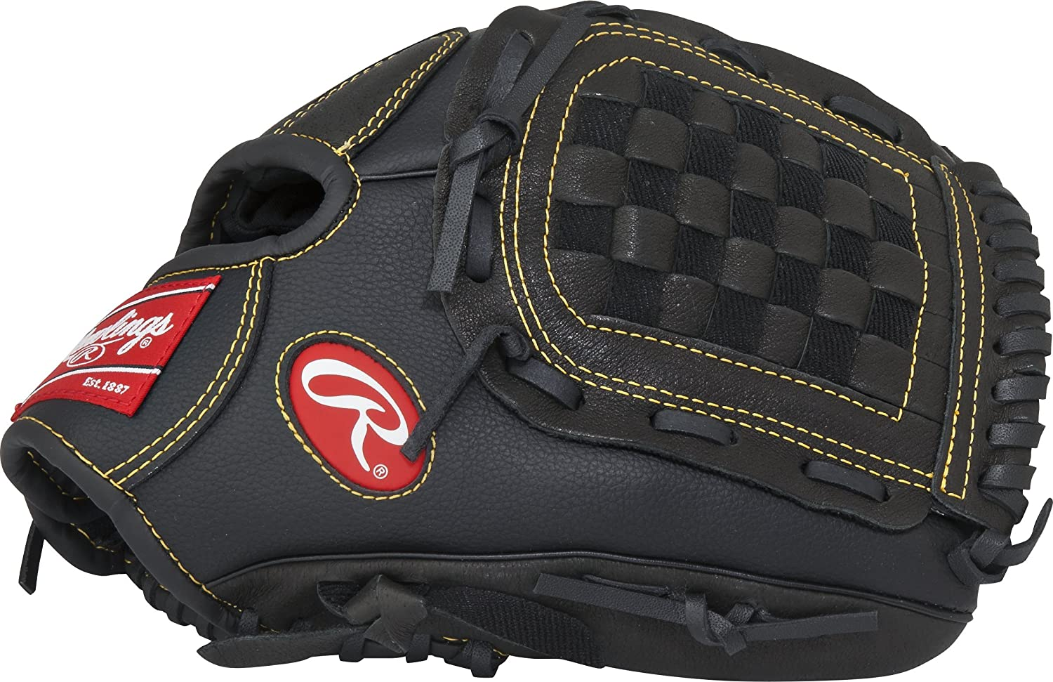 Rawlings Playmaker Series Glove, Black Rawlings Sporting Goods