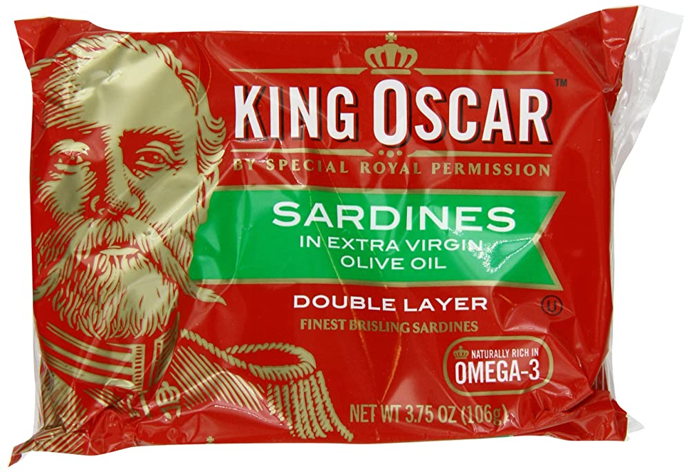 King Oscar Sardines Extra Virgin Olive Oil Review