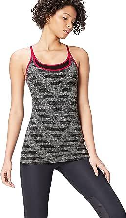 Activewear Double Layer Chevron Seamless Sports Vest