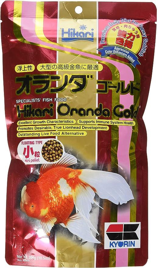 100 G Hikari Oranda Gold Fish Food Mini Pellet Floating Goldfish From Japan Food
