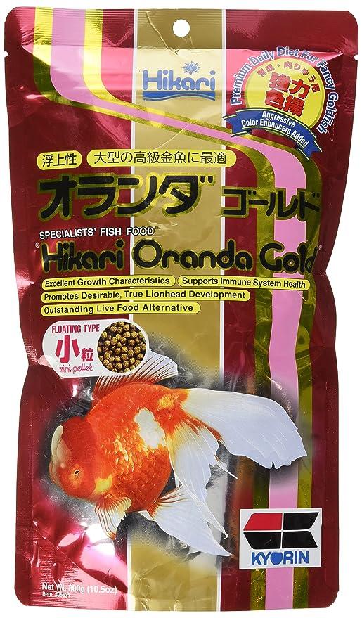 Hikari 10 5-Ounce Oranda Gold Floating Pellets for Pets, Mini