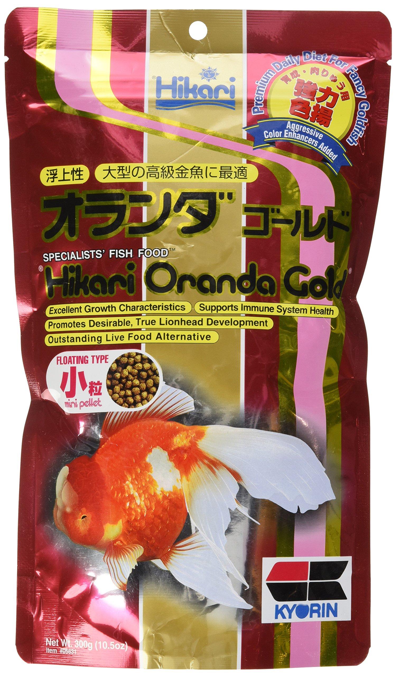 Hikari 10.5-Ounce Oranda Gold Floating Pellets for Pets, Mini