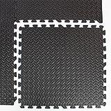 Easimat interlocking gym garage anti fatigue flooring play mats