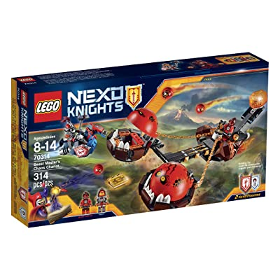 LEGO NexoKnights Beast Master's Chaos Chariot 70314: Toys & Games