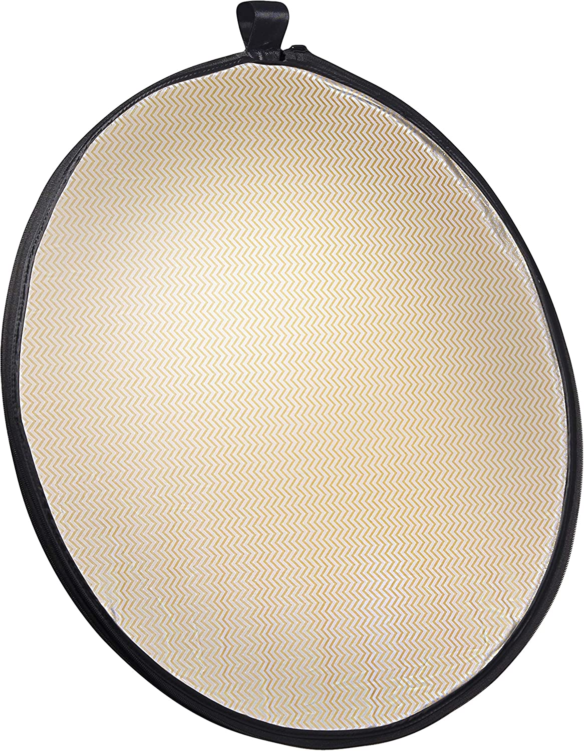 107 cm Wavy Gold//Silver//White//Black//Transparent Walimex 5-in-1 Folding Reflector Set