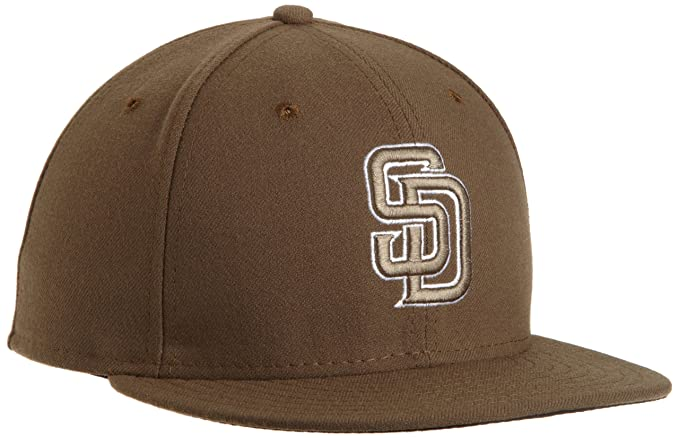 9af469b6805 Amazon.com  New Era San Diego Padres Cap 59fifty Basic Fitted ...