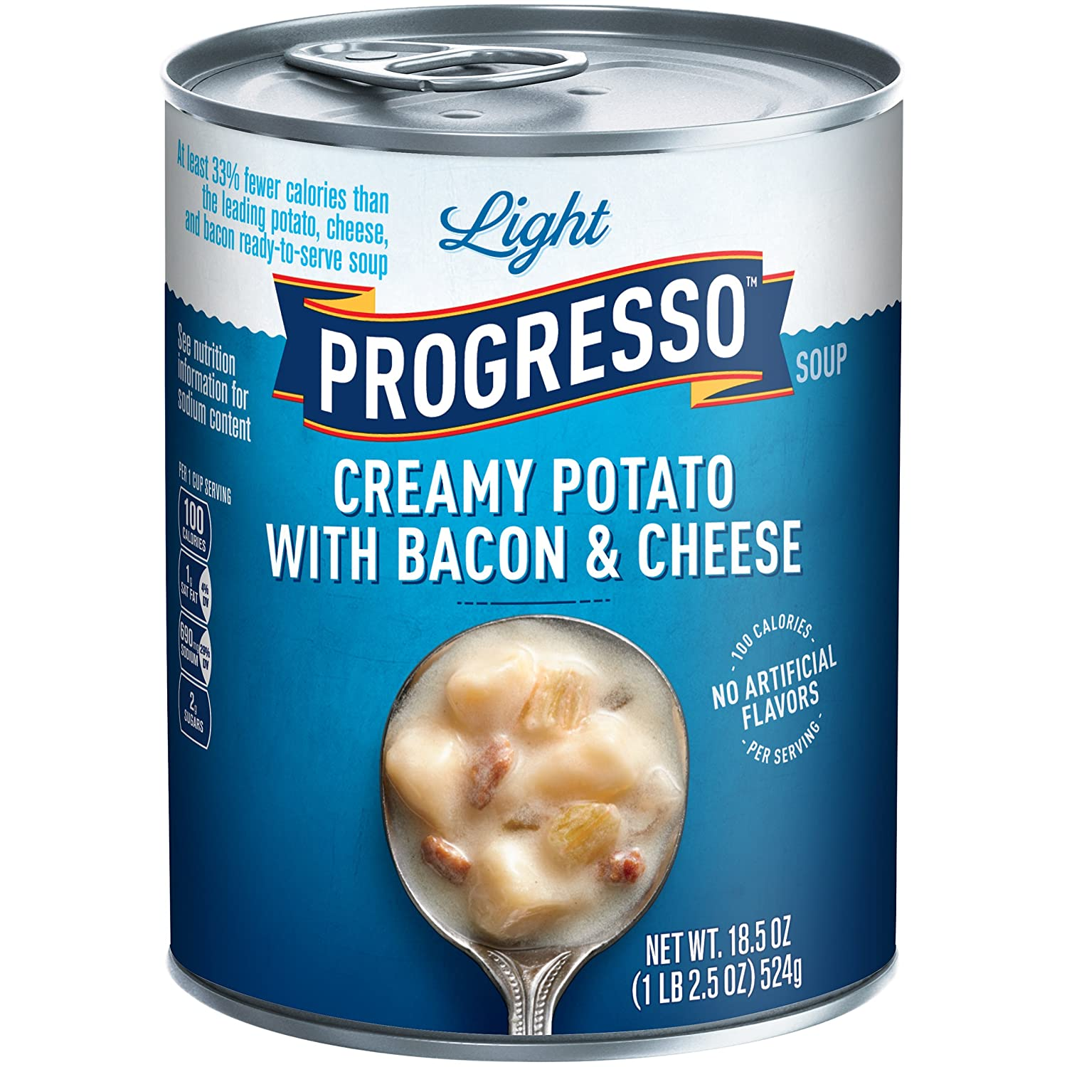 Amazon.com : Progresso Light Santa Fe Zesty Chicken Soup, 18.5 oz ...