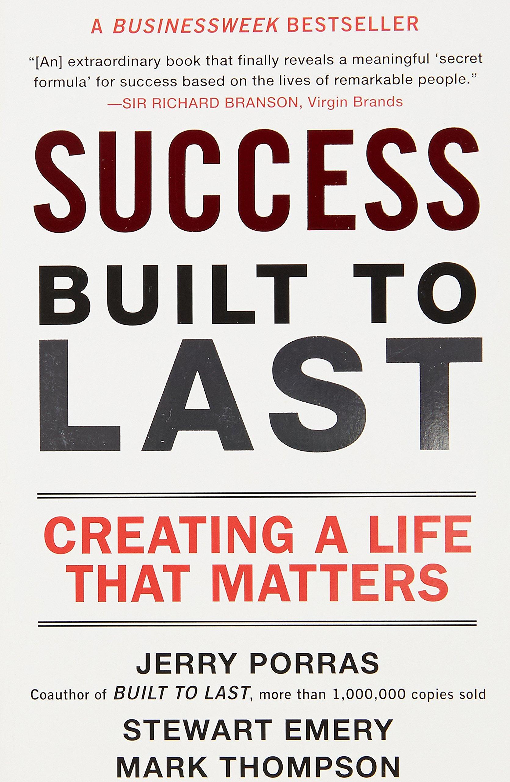 Success Built Last Creating Matters product image