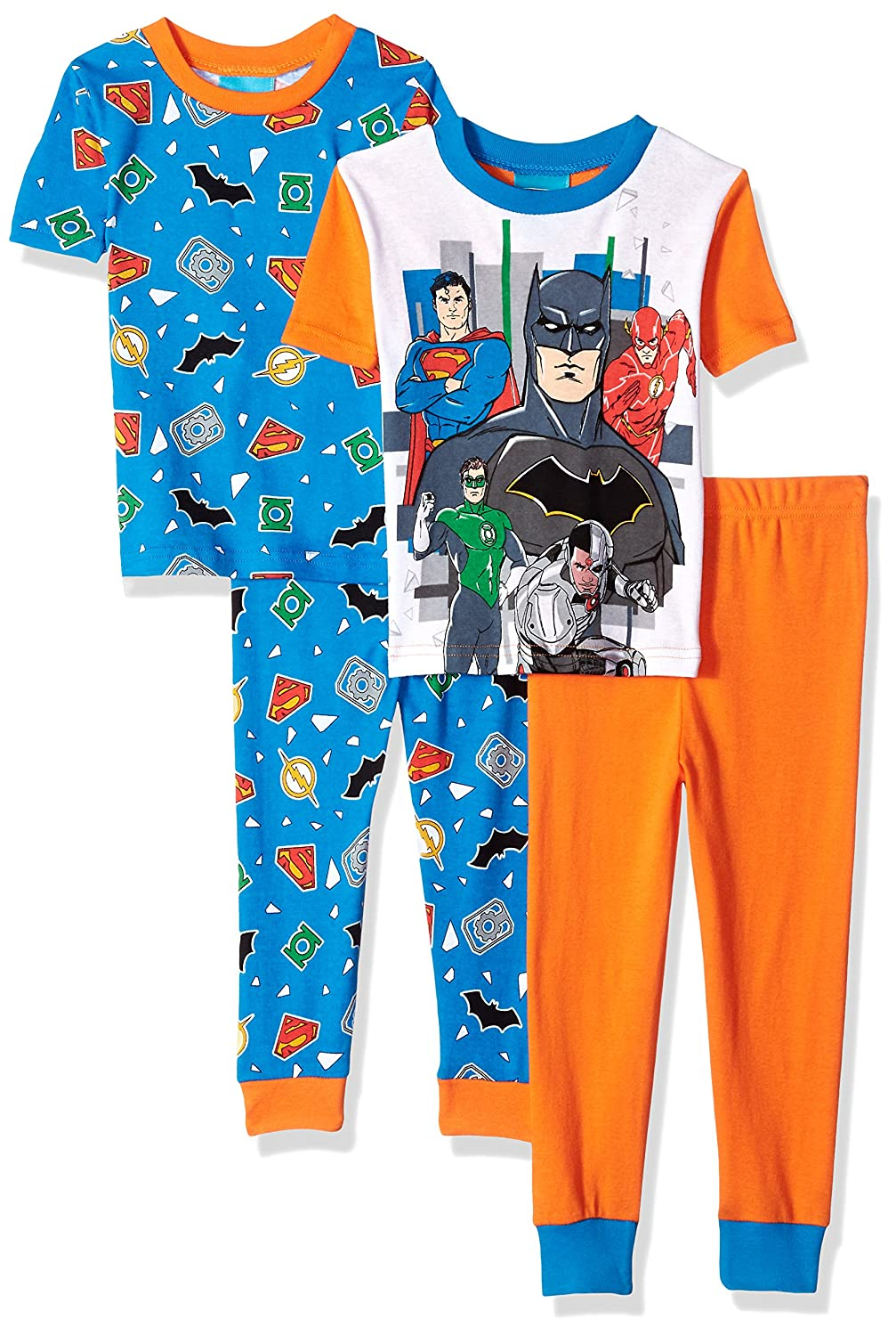296ba1dfc Amazon.com  DC Comics Boys Justice League 4-pc Pj