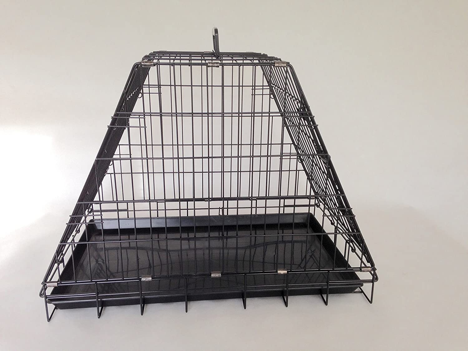 dog car cage with escape hatch 2 Doors GYC04P