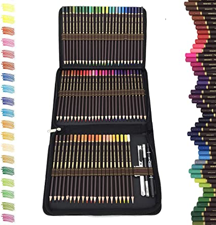 Colore Colored Pencils 72 Premium Pre-Sharpened Color Pencil Set For Drawing C