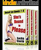 She's Bound to Please: Billionaire's Pet Boxed Set, Books 7–9