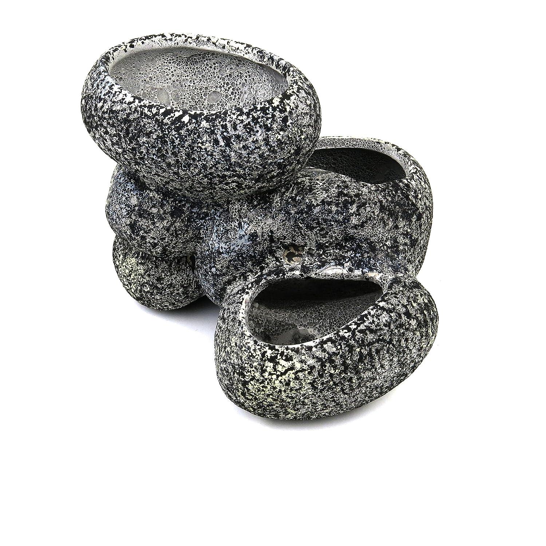 (Large) up Aqua Ceramic Bonsai Stone