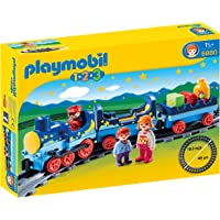 Playmobil - 6880 - Jeu - Train Etoile + Passagers