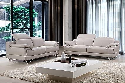 Amazon.com: Best Quality Furniture S519-SL 2PC Sofa and ...