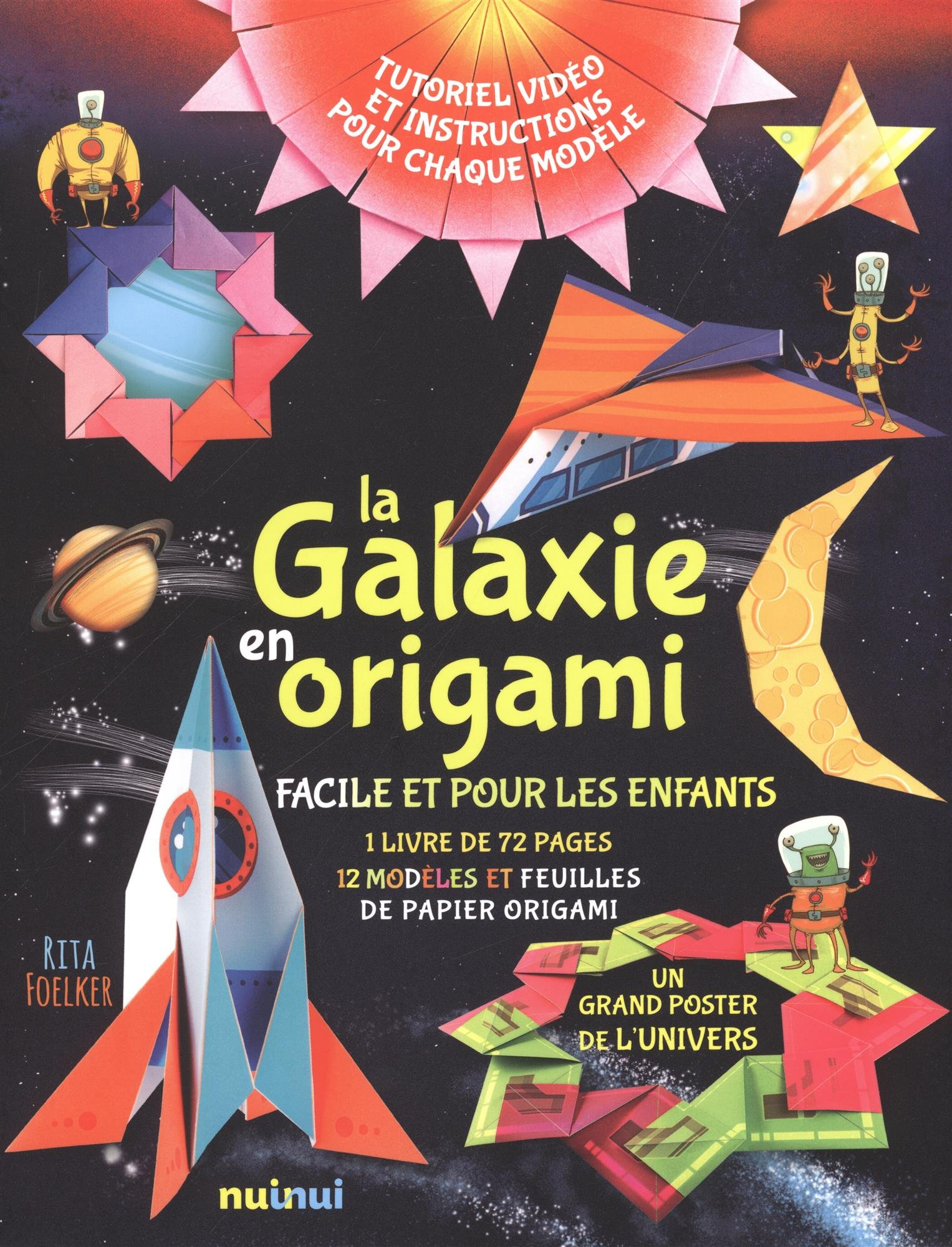 La galaxie en origami Boîte – 13 juillet 2017 Rita Foelker Nuinui 2889356183 Activités manuelles