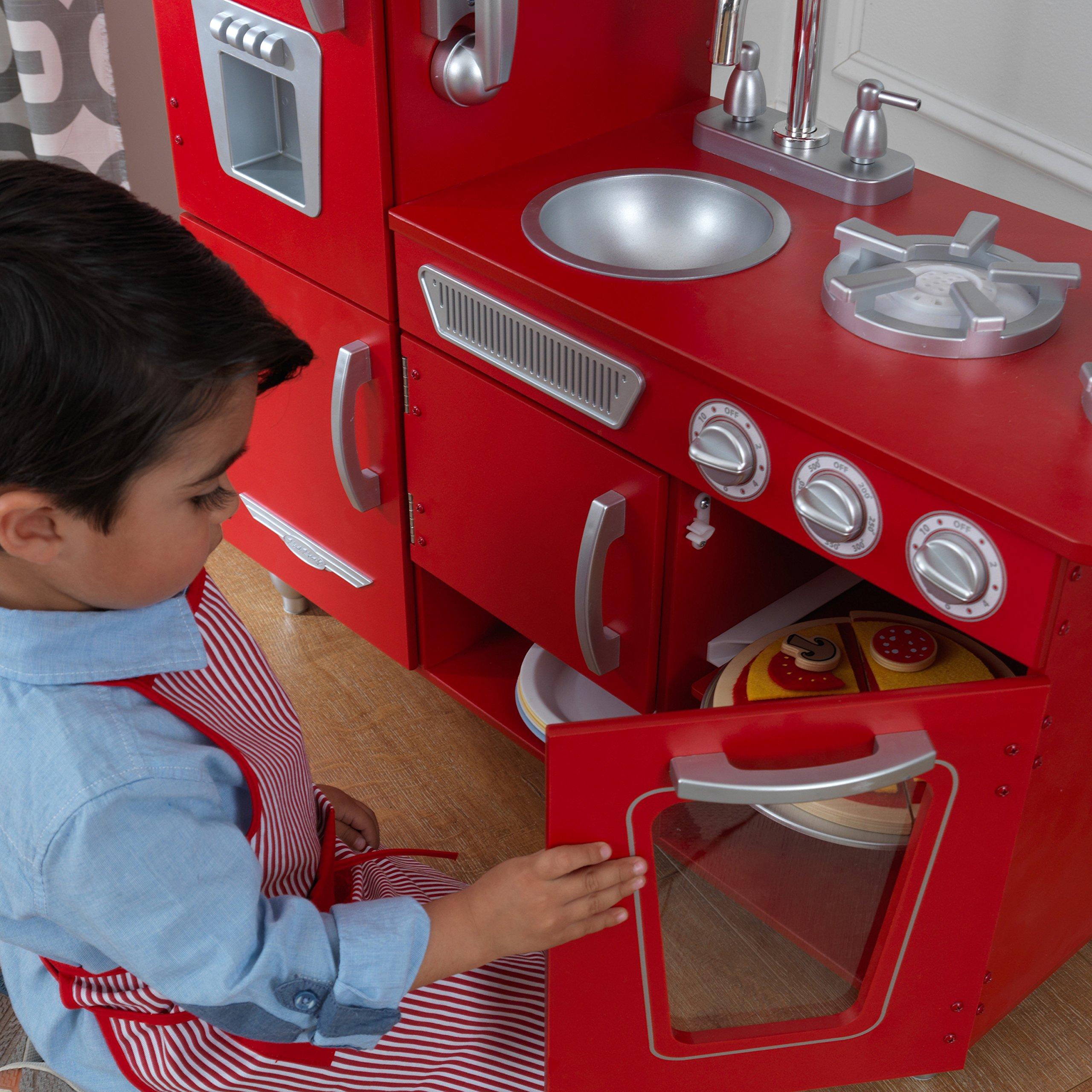 KidKraft Vintage Play Kitchen - Red by KidKraft (Image #12)