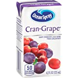 Ocean Spray Juice Drink, Cran-Grape, 4.2 Ounce Juice Box (Pack of 40)