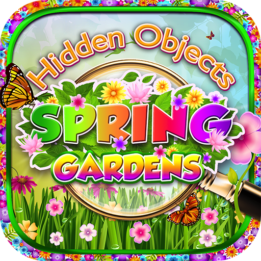 Amazon.com: Hidden Object – Spring Gardens & Objects Time Easter ...