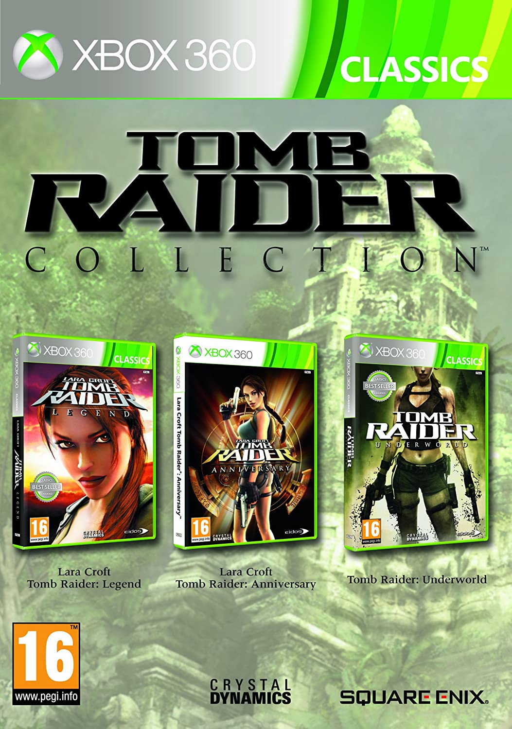 Tomb Raider Trilogy [Importación Francesa]: Amazon.es: Videojuegos