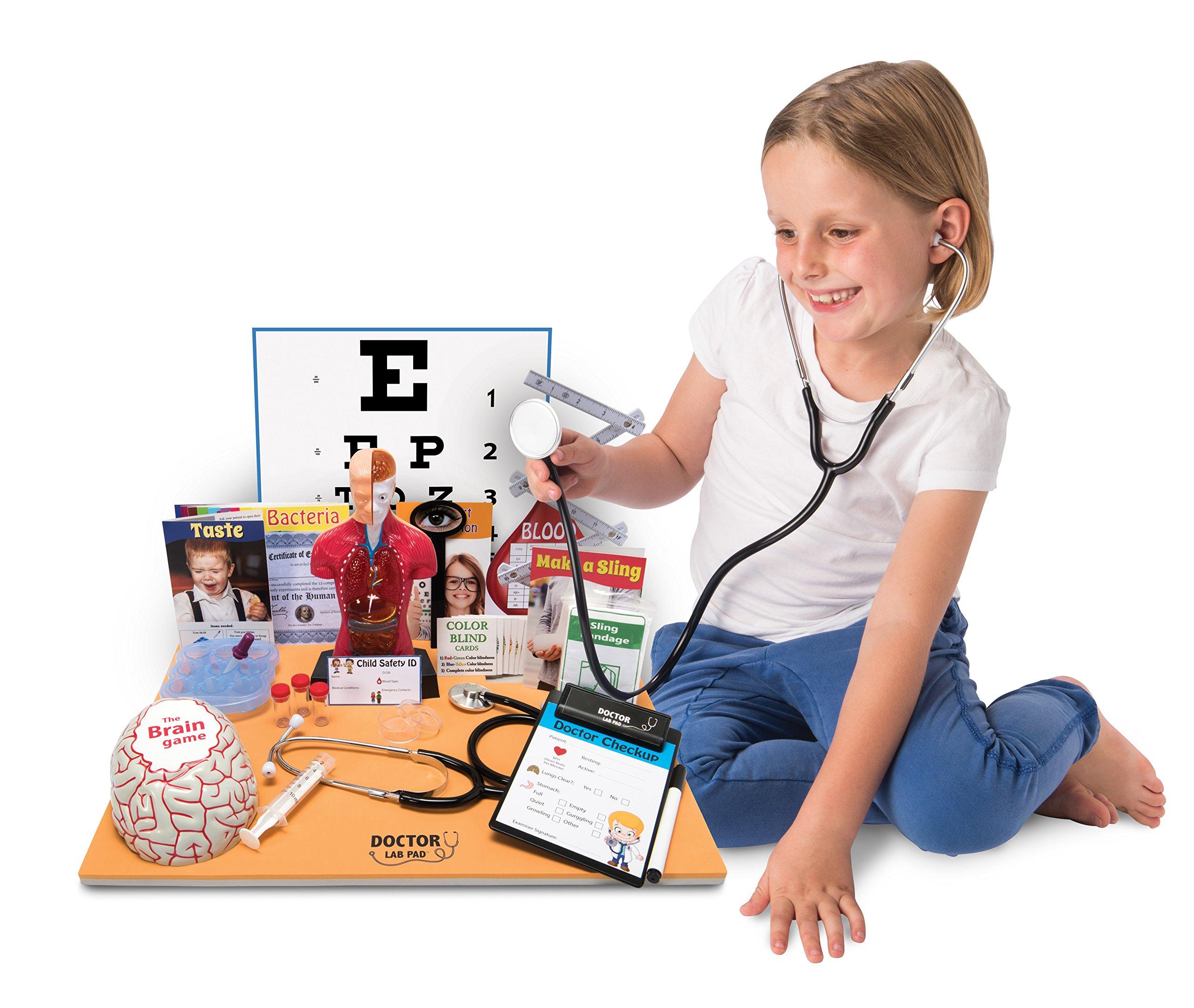 Ben Franklin Toys Doctor Lab Pad Biology Kit by Ben Franklin Toys (Image #4)