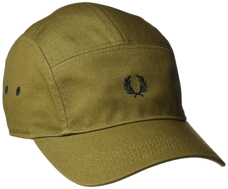 Fred Perry HW1613-Gorra de béisbol Hombre Verde Verde (Military ...
