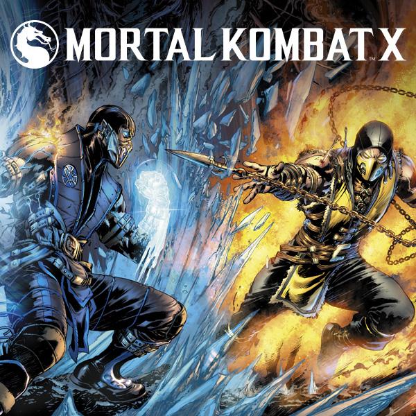 Mortal Kombat X (2015) (Collections) (3 Book -