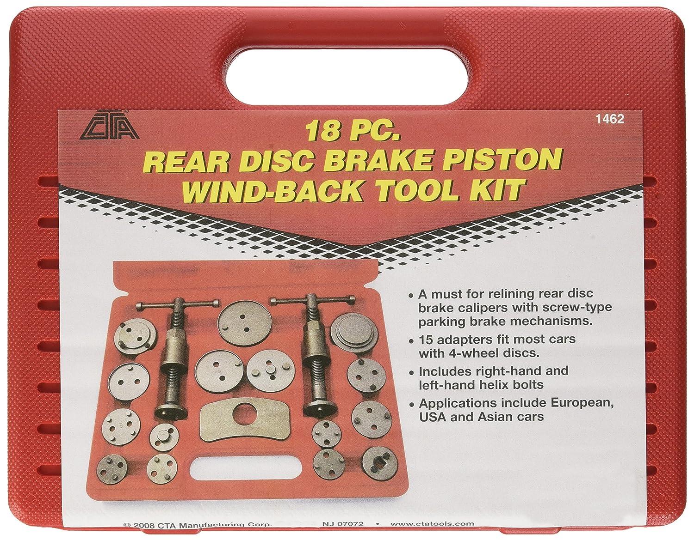 CTA Tools 1462 Disc Brake Caliper Kit - 18 Piece