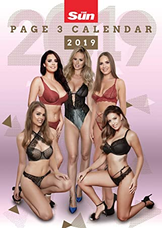 Best Sun Page 3 Of >> The Sun Page 3 Official 2019 Calendar
