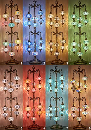 DEMMEX 2020 Mosaic Tree Floor Lamp