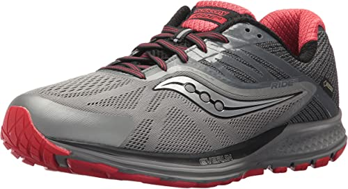 Saucony Mens Ride 10 GTX Running Shoes