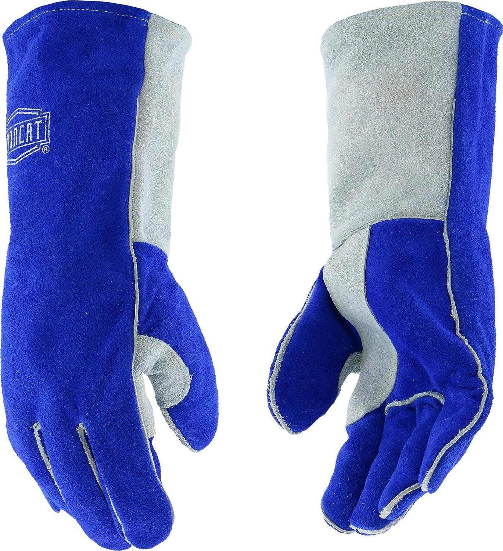 IRONCAT 9041 Select Split Cowhide Leather Stick Welding Gloves