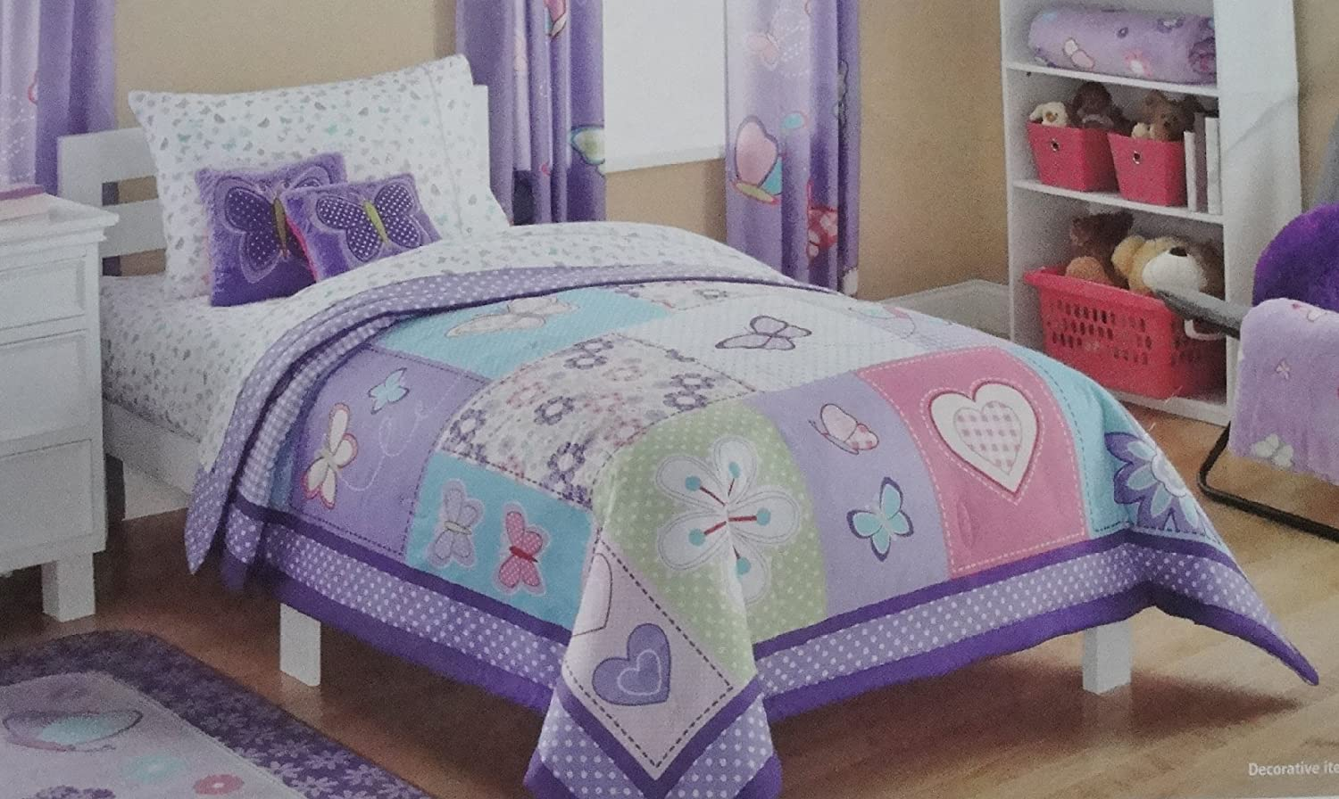 set detail dress butterfly comforter kids cover bedding dreams quilt