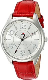 Tommy Hilfiger Womens Quartz Stainless Steel Casual Watch, Color:Silver-Toned (Model