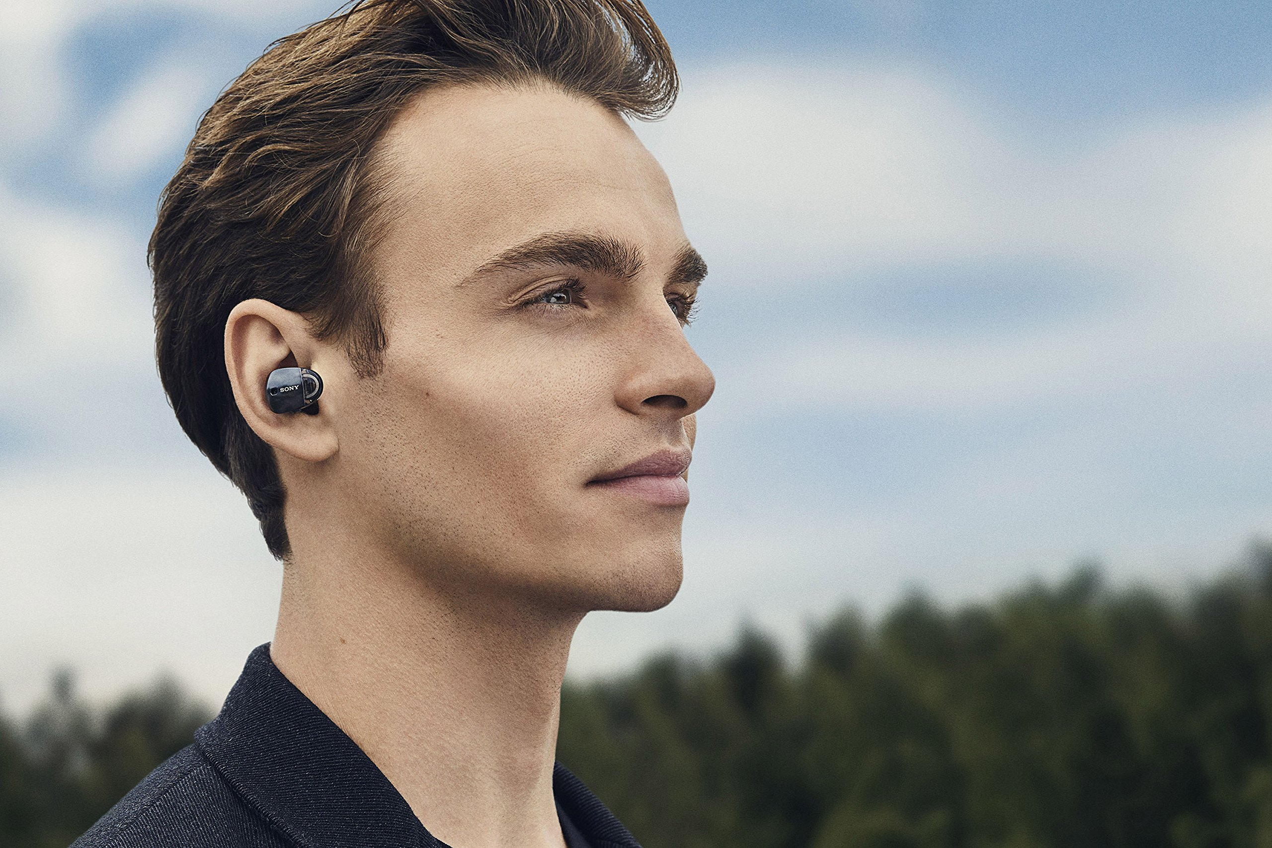 Sony Premium Noise Cancelling True Wireless Headphones - Black (WF1000X/B) by Sony (Image #6)