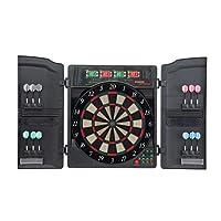 Stamm Sports Dartboard Dart Cabinet Sheffield II, schwarz-grau, D74859