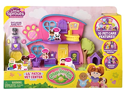 Cabbage Patch Kids Little Sprouts Lil' Vet Center Play Set
